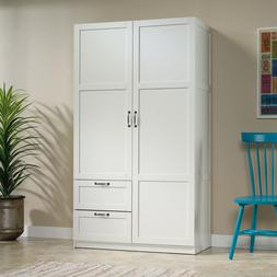 Wardrobe Armoire Closet Tall Cabinet Bedroom Clothes Storage