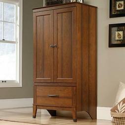 Wardrobe Armoire Storage Closet Bedroom Furniture Cabinet Wo