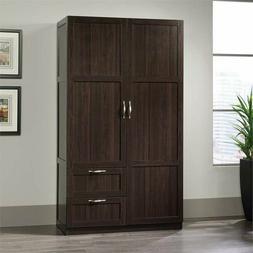 Wardrobe Storage Cabinet Closet Dresser Clothes Organizer Wo